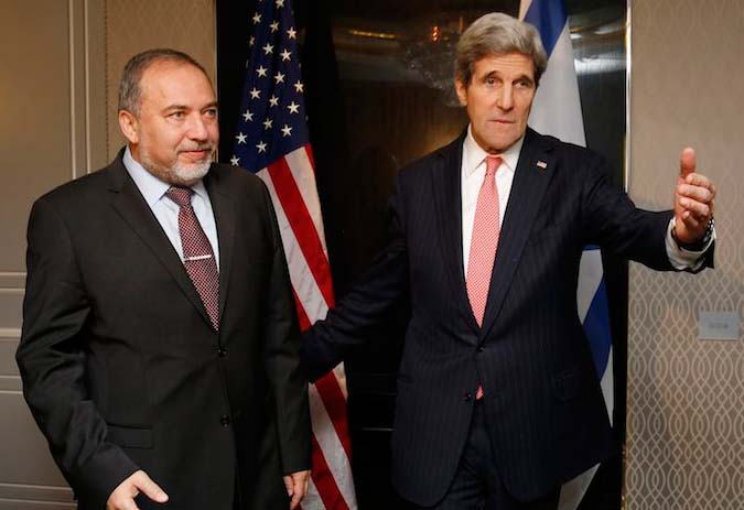 Avigdor Lieberman do not trust John Kerry, but bids to help from the Saudis.