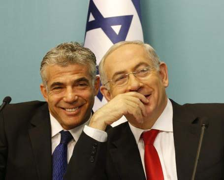 Yair Lapid is paying with fire, pushing the Israeli Government towards accepting the Hamas.