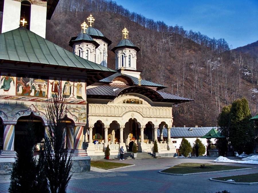 Lainici monastery in Soyth Western Romania.