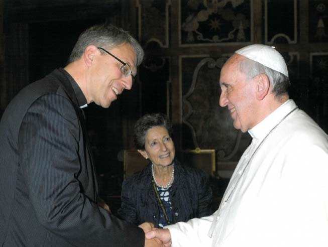 These two leaders represent 1,5 billion deceived souls. Fykse Tveit and the Pope.