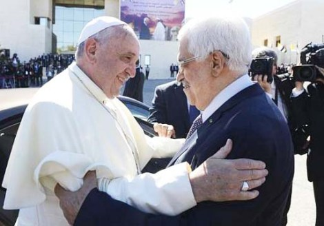 Both the Papacy and the PLO are in agreement in regards to how to deal with Israel.