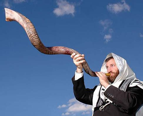 The Shofar is used in Zion to make people pay attention.