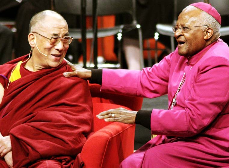 Neither Desmond Tutu nor Dailal Lama are men representing the living God.