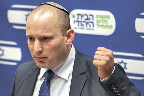 Naftali Bennet promise to cripple for Islamic forces of Hamas.