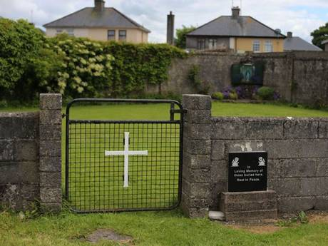 The hidden mass grave in a former playground for Roman Catholic nuns.