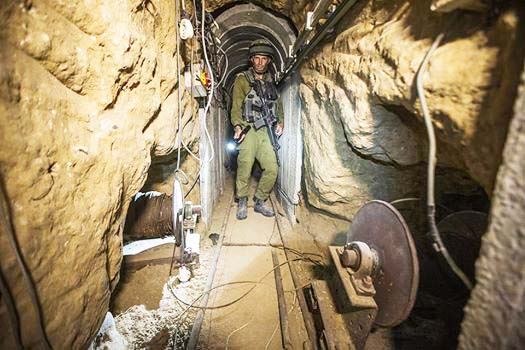 The terror tunnels of Hamas was made in a bid to kill hundres of Jews in South Israel.