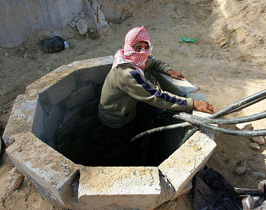 IDF is about to criple the Hamas. All the terror-tunnels into Israel is being destroyed.