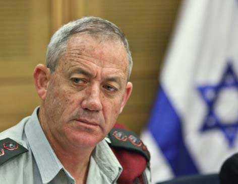 Lt.-Gen. Benny Gantz is ready to do the needfull in Gaza.