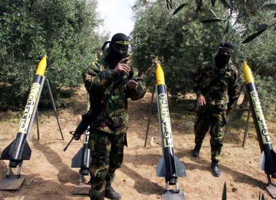 The Hamas seems to run out of its most advanced rockets.