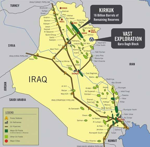 The war in Irak has never been about the protection of Christians, but a war for control over oil fields.