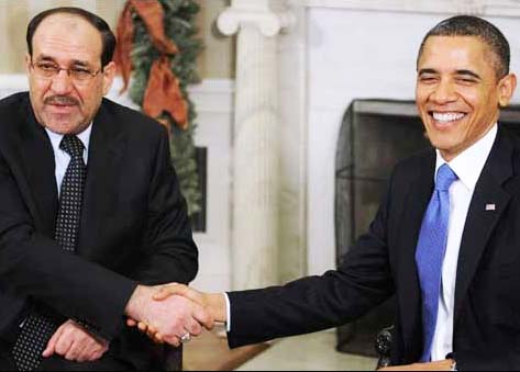 Malaki was a puppet paid by Washington, and supported by Iran.