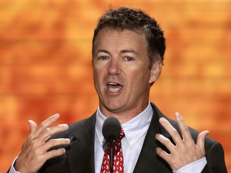 Rand Paul calls Obamas suplies of arms to ISIS for treason.