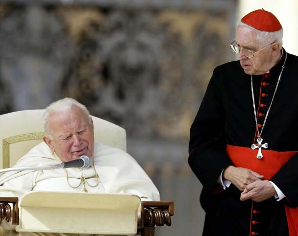 Late Pope John Paul II and Cardinal Jorge Mejia were brothers in crimes, having the Vatican as a hide out.