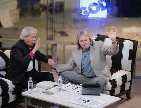 False prophet Benny Hinn has been called in to save the marriage of Rocy and Wendy Alex.
