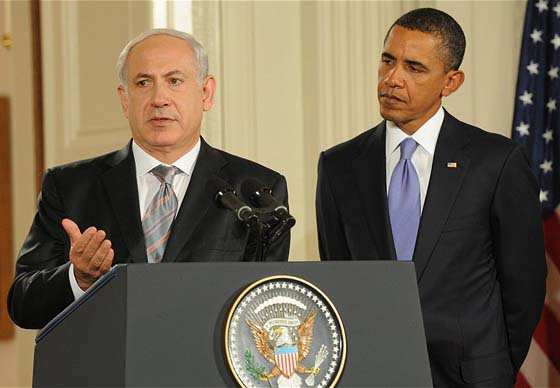 Benjanmin Netanyahu must be aware that the large majority of Israelis do not trust Obama.