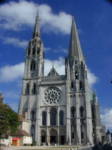 The Roman Catholic Cathedral of Cartres is also accused of stealing some of Theodors bones.