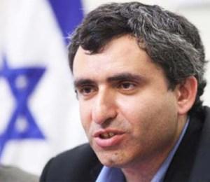 Deputy Foreign Minister Ze'ev Ekin bell Abbas as a neo-Nazi.