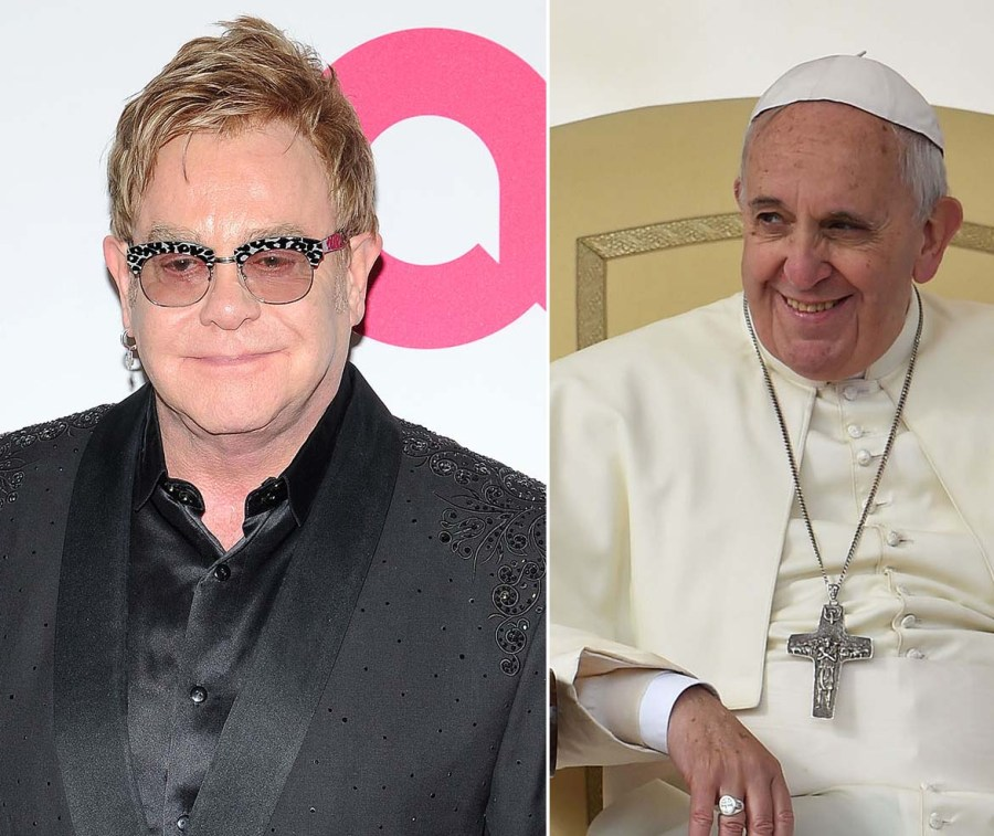 The Jesuit Pope has become a hero for homosexual Elton John.