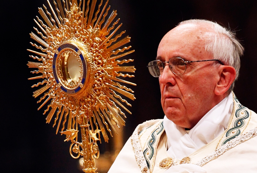 """The Pope wants all to accept him as the global leader of """"the church""""."""