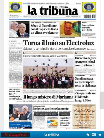 Todays Italian paper.