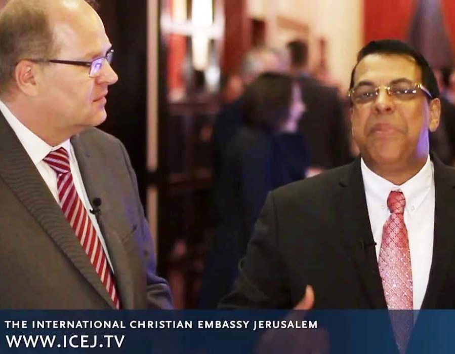 Pastor Jurgen Buhler has given false prophet Rene Terra Nova free acess to the ICEJ plattforms.