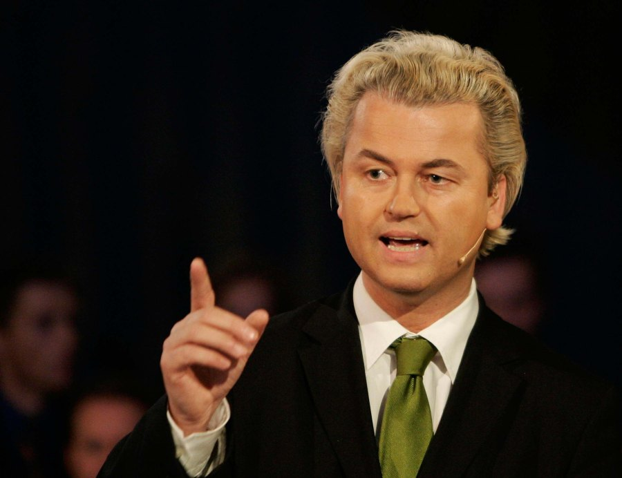 Since 2009 Geert Wilders has called for deportation of Muslims from the soil of Europe.