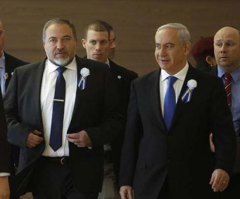 Avigdor Liberman and Benjamin Netanyahu are under pressure by the Obama Administration.