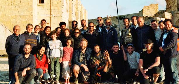 The Malta film crew paid by the Norwegian government.