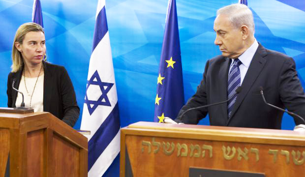 Benjamin Netanyahu and the state of Isrel must not put their trust in this EU minister.