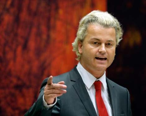Geert Wilders represent millions of Europeans who do not want Islam to be permitted to release more curses on the European continent,.