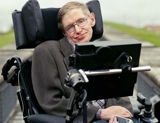 Stephen Hawking gives the human race a stern warning.