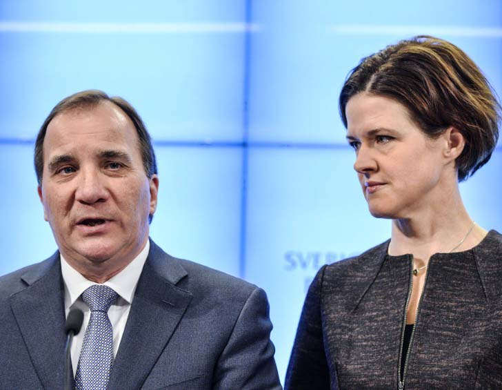 Socialist Prime Minsiter Stefan Löfven will see Conservative  Anna Kinberg voting in favor of Socialist economics in Sweden.