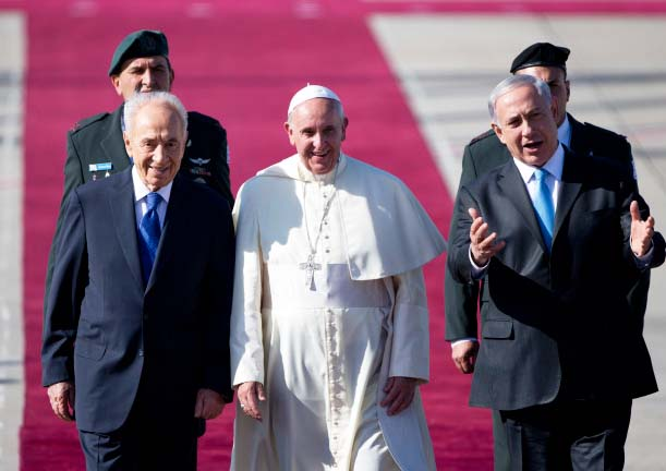 The leaders in Israel will abandon Biblical Zionism, and put their trust in the Papacy.