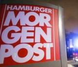 Islamic arson attack on Germanmedia