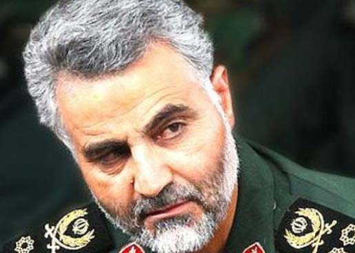What businesses has Iran top General Ali Akbar do on the Golan Height.