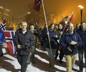 Those in opposition to Islam is punished by a government of Norway who is submitting to demands of the Sharia movement.