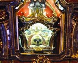 """Saint"" Aloysius got his skull on display in Italy"