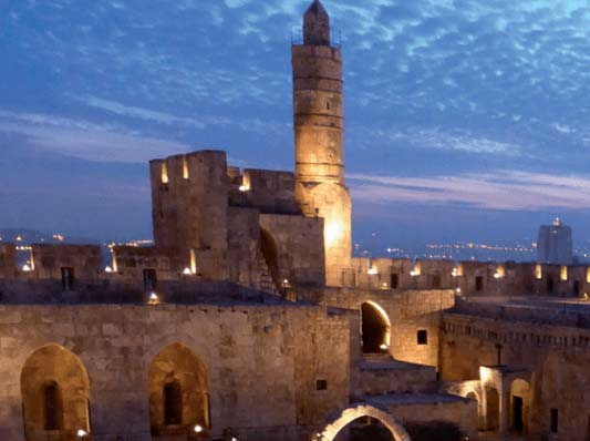 Yeshua the Messiah was kept in prison and arrested near the Tower of David.