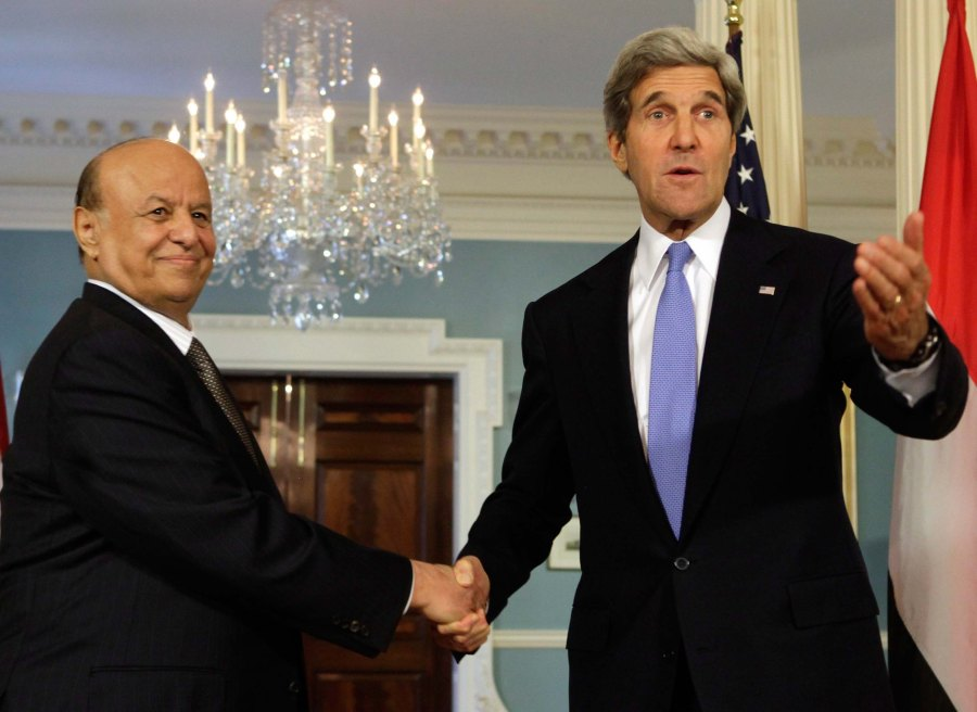 "John Kerry failed to reque the regime of Abed Rabbo Mansour Hadi, despite giving ""moderate Muslims"" hundreds of millions of dollars."