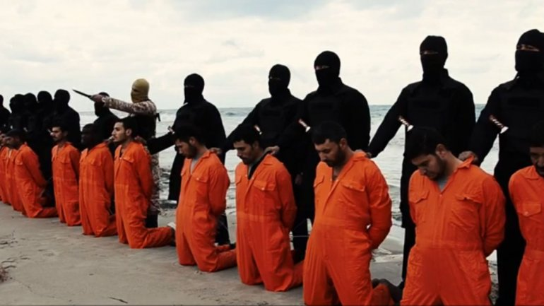 President Obama refused to name these 21 matryrs as Christians, slained by Muslims.