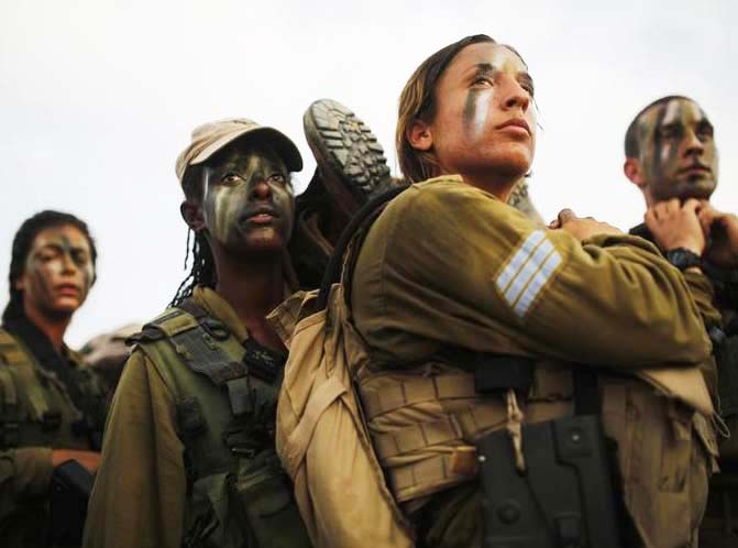 I know these brave IDF soldiers will one day have to surrender to the forces of evil. The Messiah is their only hope.