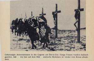 "What ISIL is doing today, the Ottoman Empire did to the Armenian Christians in 1915. The Islamim ""Jesus"" did not return to stop them."
