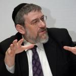 Michael Melchior defame God of Israel.