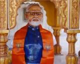 Hindus worship prime minister Modi intemple
