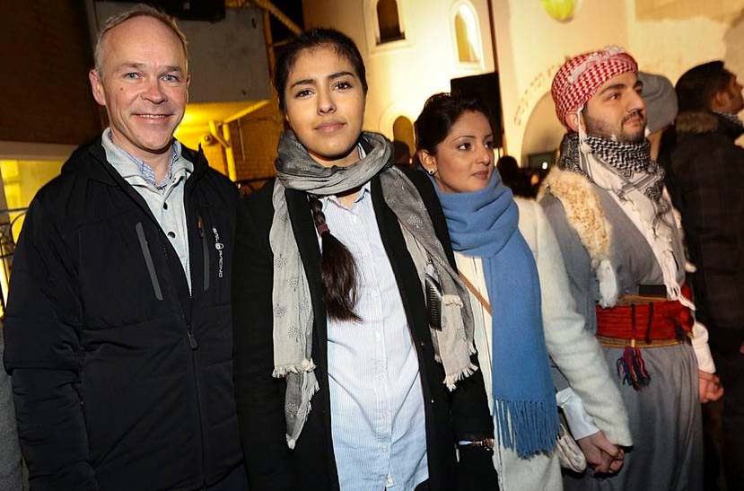Norwegian Conservative minister Jan Tore Sanner stand united with Muslims who wants to destroy the state of Israel.