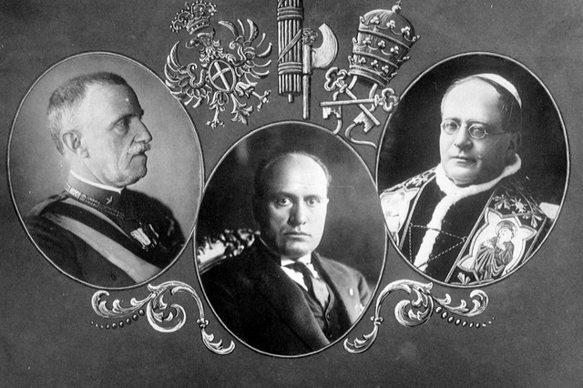 The alliance between Mussolini and the Pope were strong, and built on a common agenda.