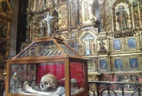 Italian Catholic or a Jew. His remains is put for display in a Roman Catholic shrine in Mexico.