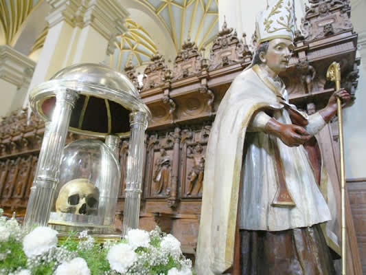 Relics of Saint Toribio de Mogrovejo, Archbishop of Lima Cathedral-Basilica of Lima
