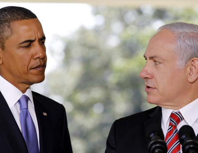 "Benjamin Netanyahu can now overlook the end of ""Lame duck"" Obama, who soon will leave the White House."