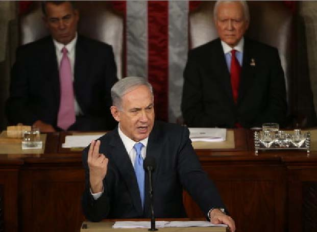 "Benjamin Netanyahu gives the US a stern warning, not to enter into a ""peace deal"" with Iran."